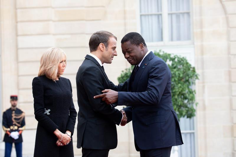 Faure Gnassingbe en visite en France