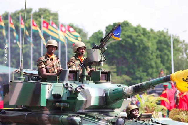 L'armée Togolaise